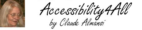 Accessibility 4 All by Claude Almansi