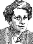 portrait of Hannah Arendt (drawing)