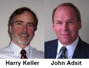 Picture of Harry Keller and John Adsit