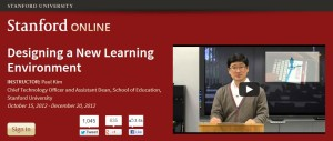 Stanford Online: Designing a New Learning Environment