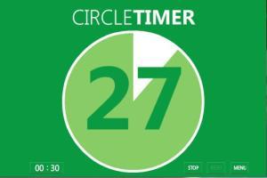 Figure 7 - Circle Timer