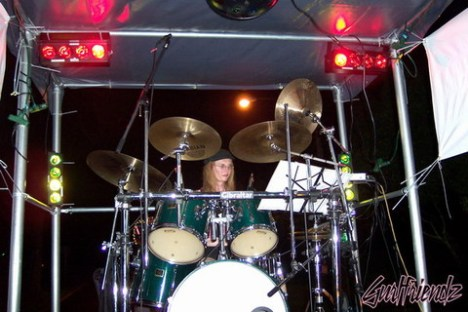 """Stephanie Ellison, """"a percussionist who happens to be deaf."""""""