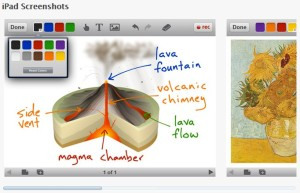 Educreations Interactive White Board.