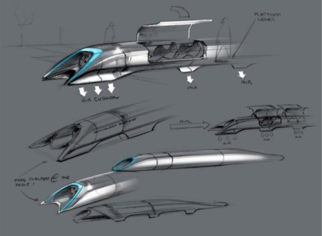 Hyperloop, by Elon Musk, Chairman, Product Architect and CEO, 12 Aug. 2013.