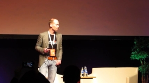 Bas Lansdorp on 19 April 2013. Image from video added to YouTube by Raitis Misa on 23 April 2013.