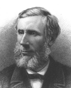 "John Tyndall, author of ""The Bakerian Lecture: On the Absorption and Radiation of Heat by Gases and Vapours, and on the Physical Connexion of Radiation, Absorption, and Conduction,"" Philosophical Transactions of the Royal Society of London, Vol. 151 (1861)."