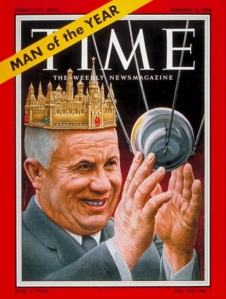 Kruschev and Sputnik cover