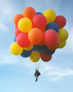 Photo from the Cluster Balloon Flight Page.