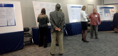 Poster Session: Lively Discussion among participants.