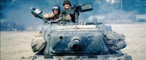 FURY, a Sherman tank.